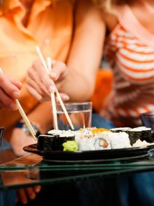 Invite Your Friends to a Sushi Party
