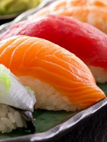 Sushi is Great Taste Experience