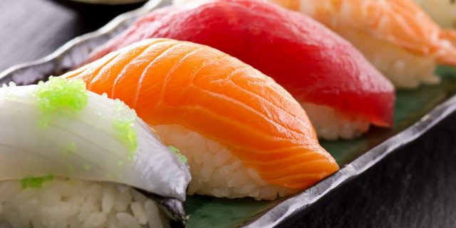 Exhibition of Sushi Catering